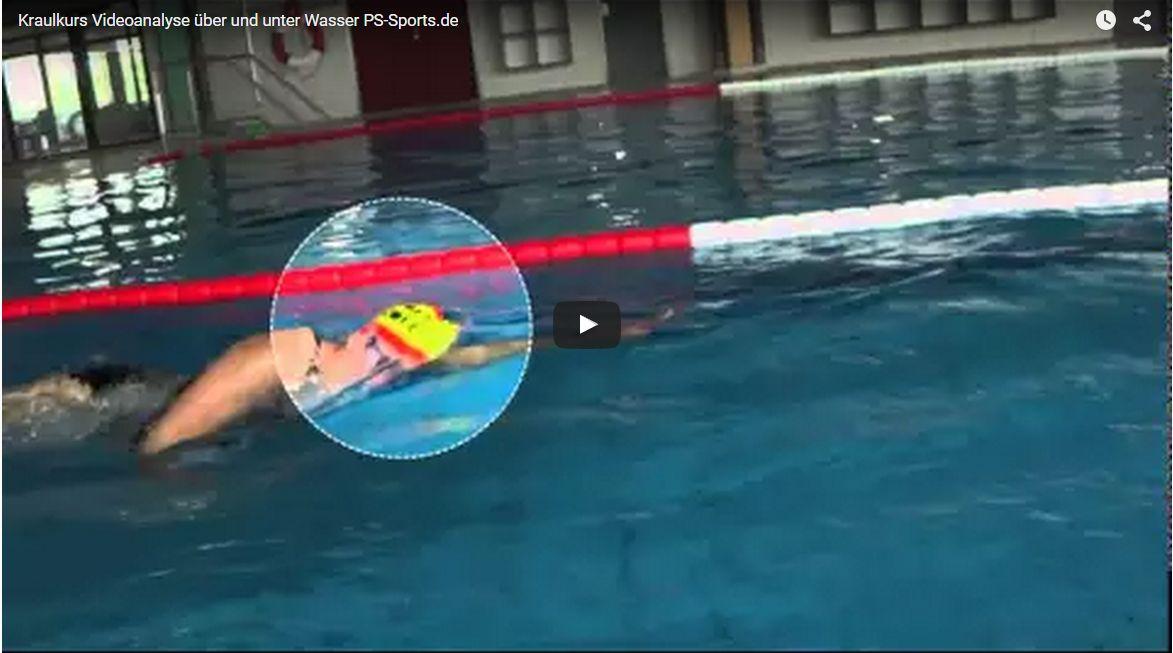 Kraulkurs: Über-und Unterwasser-Videoanalyse mit PS-Sports.de in Maintal