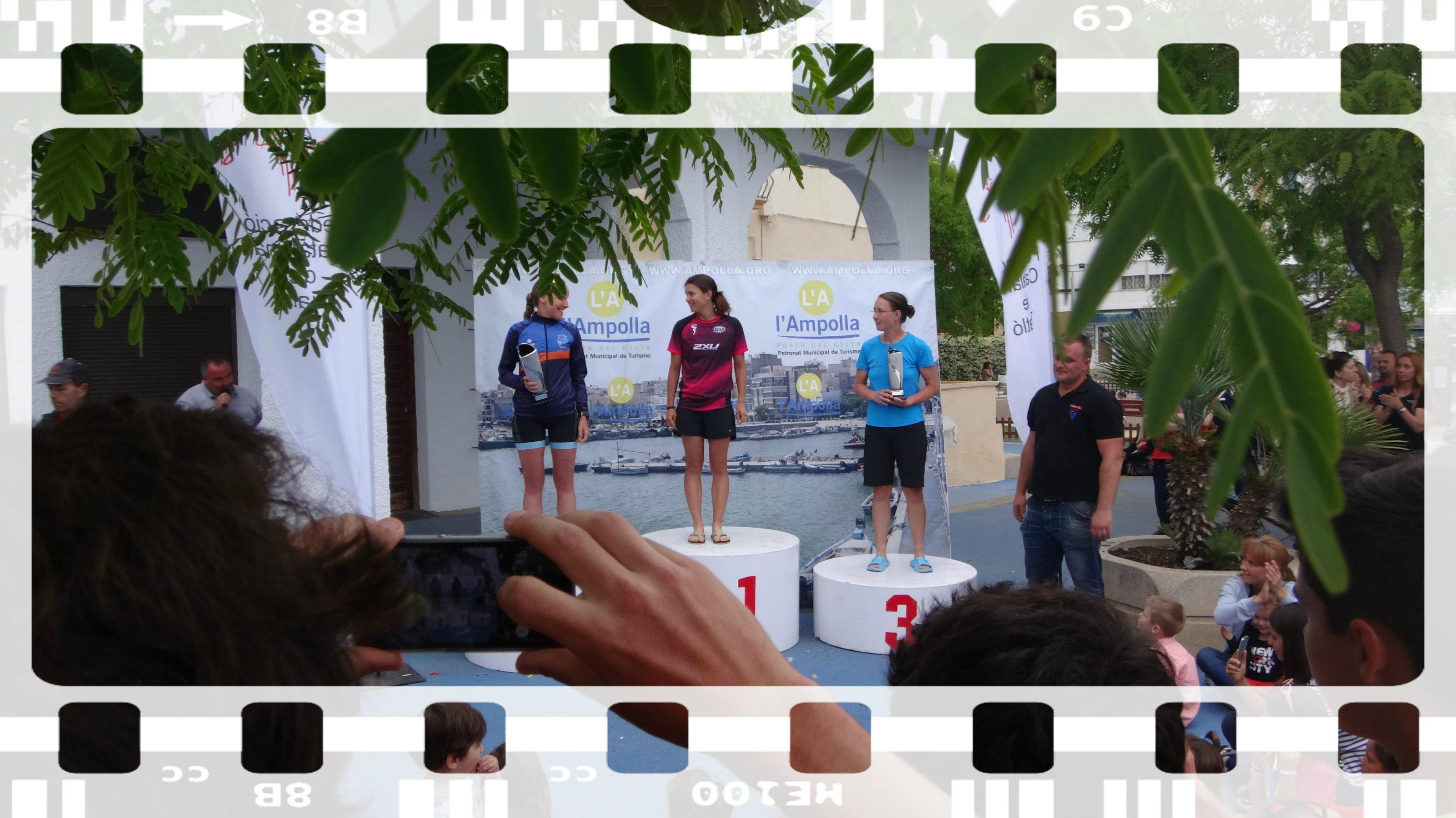 Diana 3. beim Ironcat in Katalonien