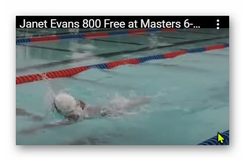 Janet Evans Freestyle