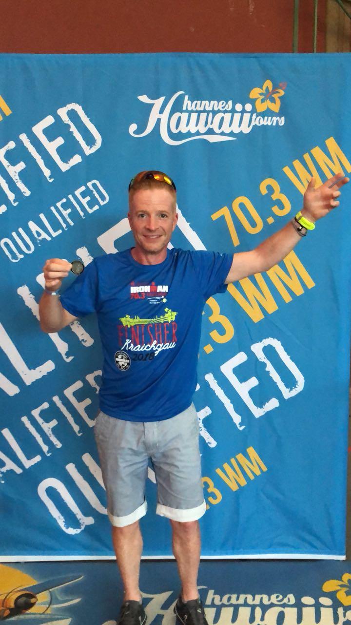 Ironman 70.3 Kraichgau: Christian fährt zur 70.3. WM
