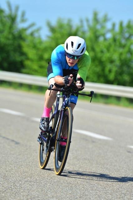 """Christian Wisselinck beim Ironman 70.3 im Kraichgau: """"Meinst du wirklich, dass das drin ist?"""""""