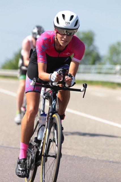 Karin Wisselinck als Rookie beim Ironman 70.3 Kraichgau