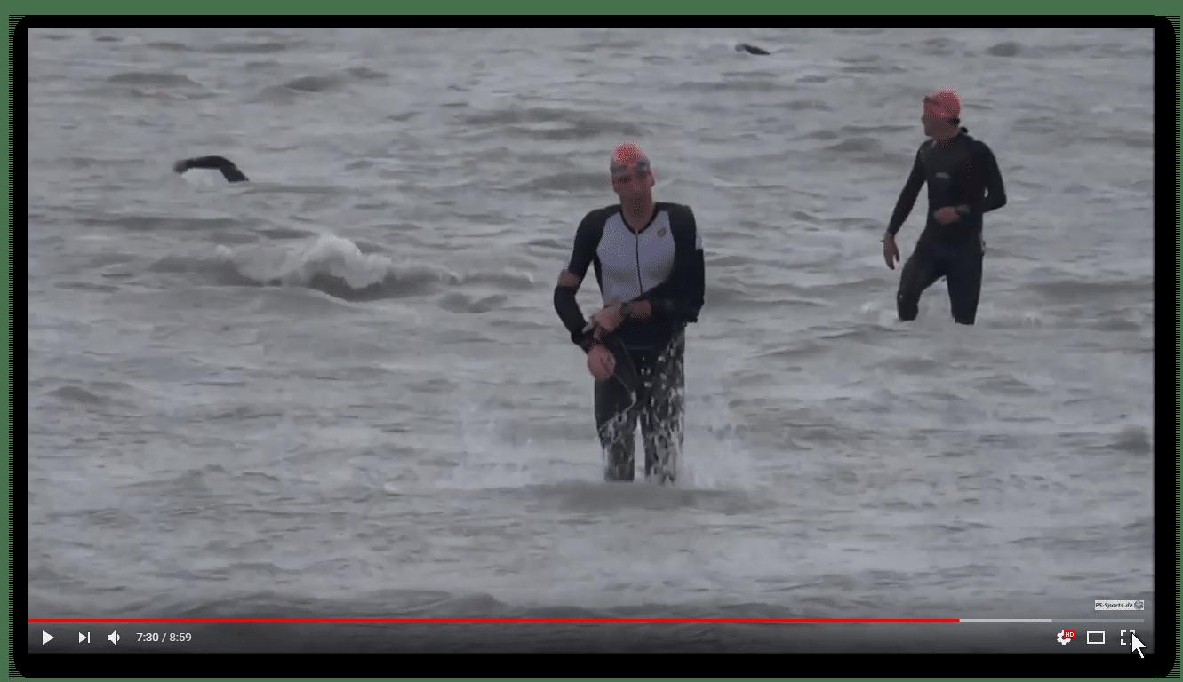 31. Int. Austria-Triathlon in Podersdorf: Impressionen vom Schwimmen über 3,8km im Neusiedler See