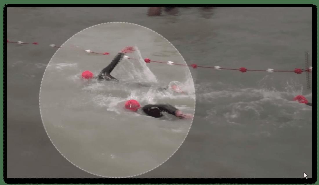Open Water – Schwimmen im Freiwasser: eine Analyse