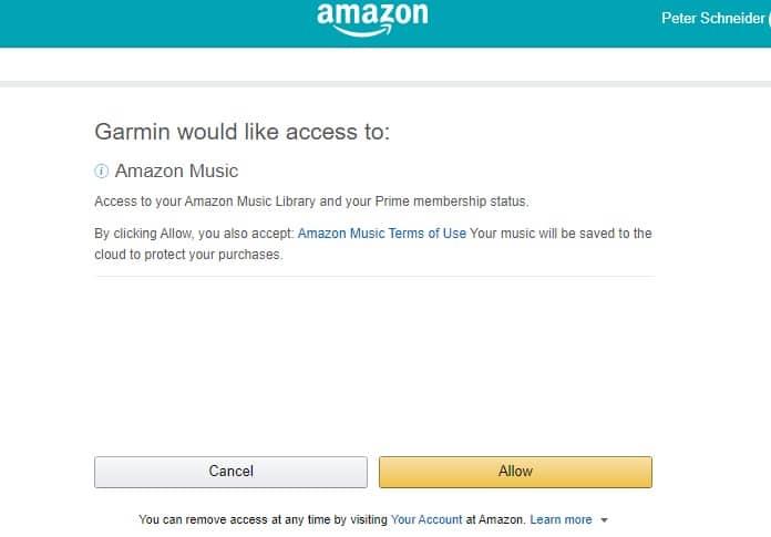 Garmin Forerunner 945 mit Amazon Music einrichten