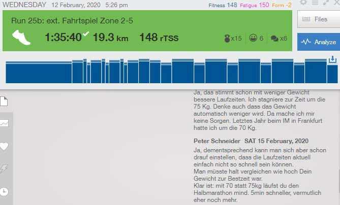 Triathlon individuelles Profi-Coaching in der Praxis mit Trainingpeaks 2